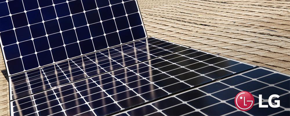LG Neon Solar Panels by Solar Power Pros