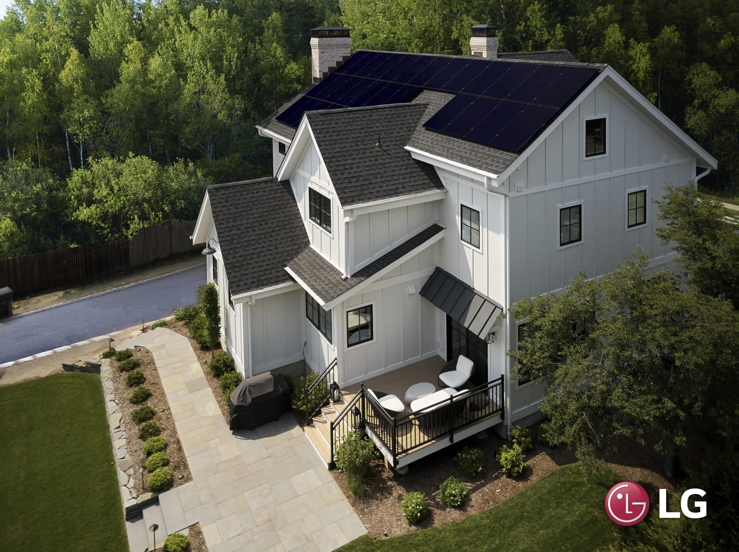 LG Solar Panels for homes in Denver