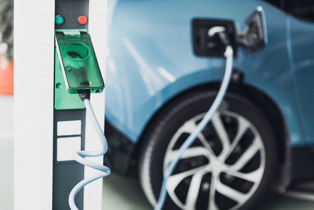 electric vehicle charging port