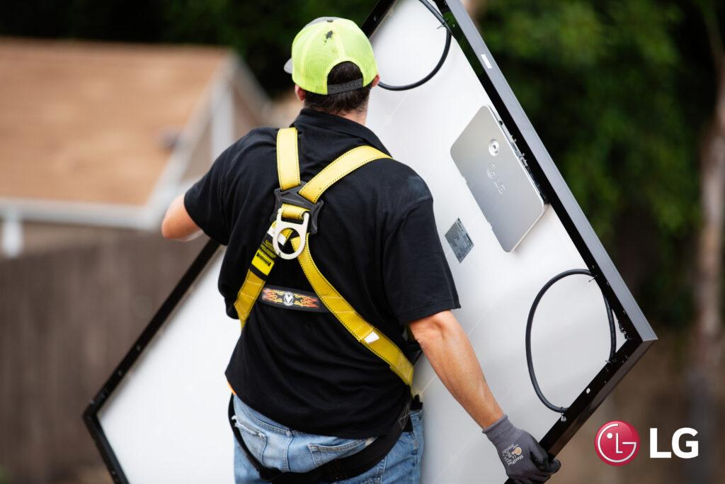 LG Solar Panels Installation in Denver